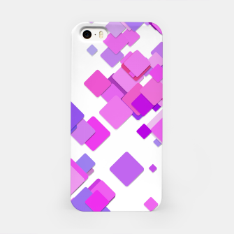 Thumbnail image of Pink Blocks iPhone Case, Live Heroes