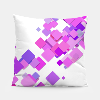 Thumbnail image of Pink Blocks Pillow, Live Heroes