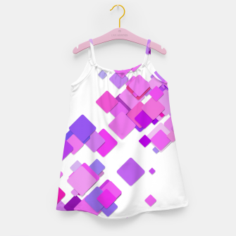 Thumbnail image of Pink Blocks Girl's dress, Live Heroes