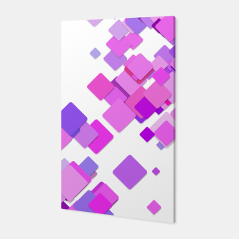 Thumbnail image of Pink Blocks Canvas, Live Heroes