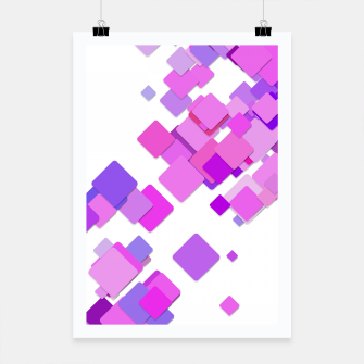 Thumbnail image of Pink Blocks Poster, Live Heroes