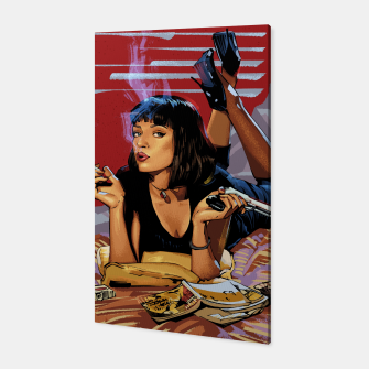 Thumbnail image of Pulp Fiction Mia Canvas, Live Heroes