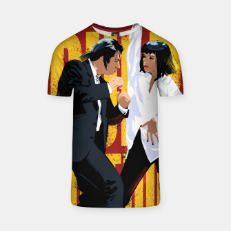 Thumbnail image of Pulp Fiction Dance T-shirt, Live Heroes