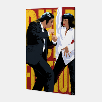 Thumbnail image of Pulp Fiction Dance Canvas, Live Heroes