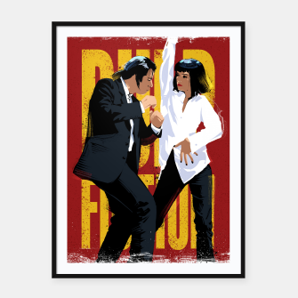 Thumbnail image of Pulp Fiction Dance Framed poster, Live Heroes