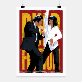 Thumbnail image of Pulp Fiction Dance Poster, Live Heroes