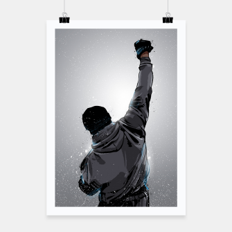 Thumbnail image of Rocky Poster, Live Heroes