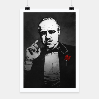 Thumbnail image of The Godfather Poster, Live Heroes