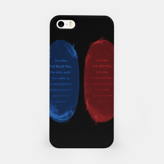 Thumbnail image of Red Pill Blue Pill iPhone Case, Live Heroes