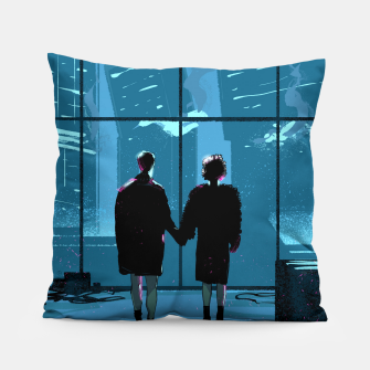 Thumbnail image of Fight Club Pillow, Live Heroes