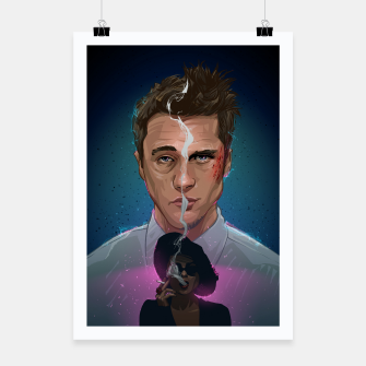 Thumbnail image of Fight Club Poster, Live Heroes