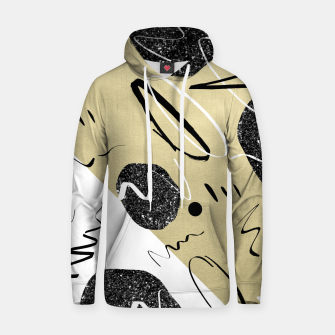 Thumbnail image of Gold Black White Abstract Glam #1 #trendy #decor #art  Kapuzenpullover, Live Heroes