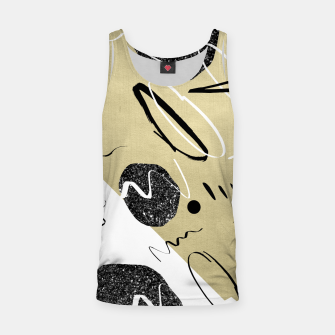 Miniature de image de Gold Black White Abstract Glam #1 #trendy #decor #art  Muskelshirt , Live Heroes