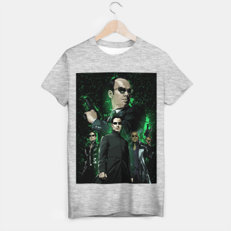 Miniatur The Matrix T-shirt regular, Live Heroes