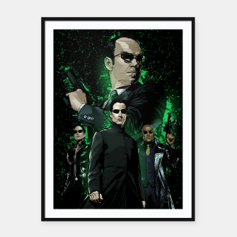 Miniatur The Matrix Framed poster, Live Heroes