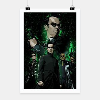 Miniatur The Matrix Poster, Live Heroes