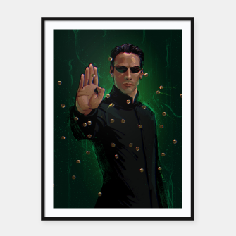 Thumbnail image of Neo Framed poster, Live Heroes
