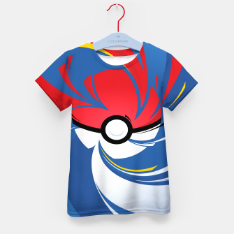 Thumbnail image of Pokemon Kid's t-shirt, Live Heroes