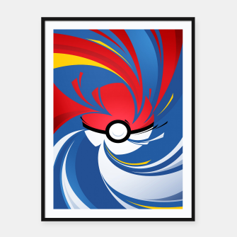 Thumbnail image of Pokemon Framed poster, Live Heroes