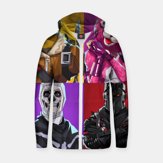 Miniature de image de Fortnite Zip up hoodie, Live Heroes