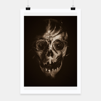 Miniatur SKULL Poster, Live Heroes