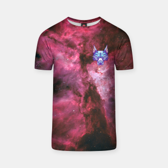 Thumbnail image of Red Space T-shirt, Live Heroes