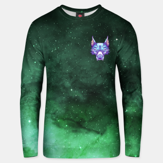 Miniatur Green Space Unisex sweater, Live Heroes