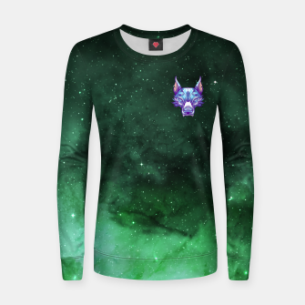 Thumbnail image of Green Space Women sweater, Live Heroes