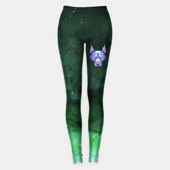Thumbnail image of Green Space Leggings, Live Heroes
