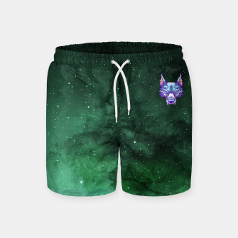 Thumbnail image of Green Space Swim Shorts, Live Heroes
