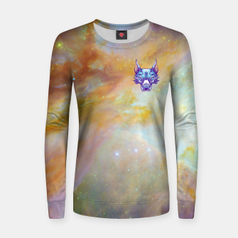 Thumbnail image of Yellow Space Women sweater, Live Heroes