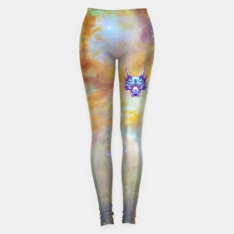 Thumbnail image of Yellow Space Leggings, Live Heroes