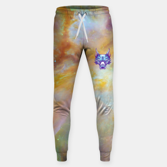 Thumbnail image of Yellow Space Sweatpants, Live Heroes