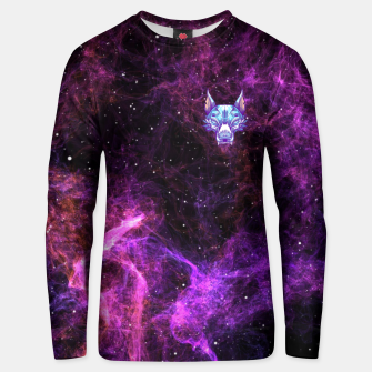 Miniatur Purple Space Unisex sweater, Live Heroes