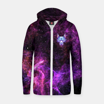 Thumbnail image of Purple Space Zip up hoodie, Live Heroes