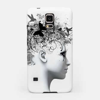 Thumbnail image of GREY FLOWER Samsung Case, Live Heroes