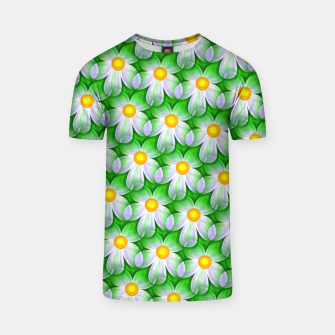 Thumbnail image of Seamless Flowers T-shirt, Live Heroes