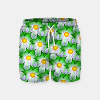 Thumbnail image of Seamless Flowers Swim Shorts, Live Heroes