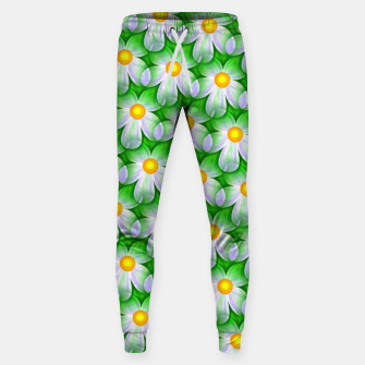 Thumbnail image of Seamless Flowers Sweatpants, Live Heroes