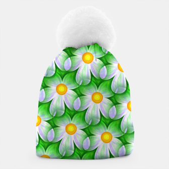 Thumbnail image of Seamless Flowers Beanie, Live Heroes