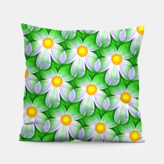 Thumbnail image of Seamless Flowers Pillow, Live Heroes