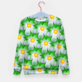 Thumbnail image of Seamless Flowers Kid's sweater, Live Heroes