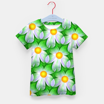 Thumbnail image of Seamless Flowers Kid's t-shirt, Live Heroes