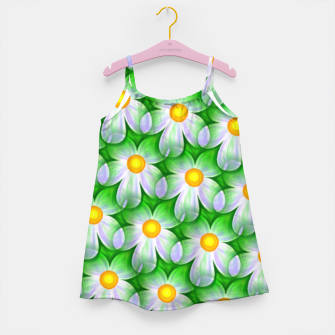 Miniaturka Seamless Flowers Girl's dress, Live Heroes