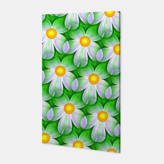 Miniaturka Seamless Flowers Canvas, Live Heroes