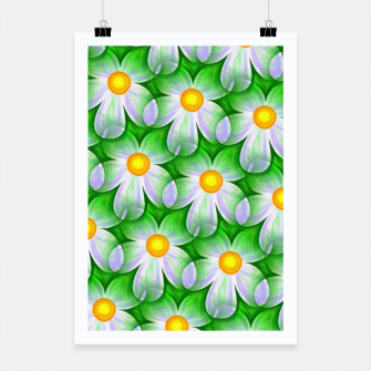 Thumbnail image of Seamless Flowers Poster, Live Heroes