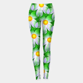 Miniaturka Seamless Flowers Leggings, Live Heroes