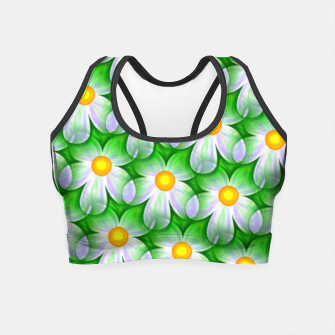 Miniaturka Seamless Flowers Crop Top, Live Heroes