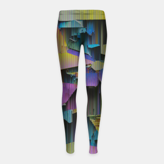 Thumbnail image of 018 Girl's leggings, Live Heroes