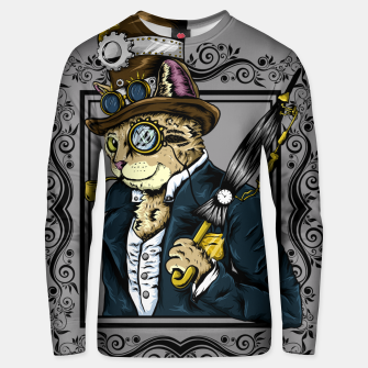 Thumbnail image of Gentle Cat Unisex sweater, Live Heroes